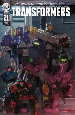 Transformers (2019) (Comic Book) #21