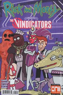 Rick and Morty Presents The Vindicators (Variant Covers) (Comic Book) #1.1
