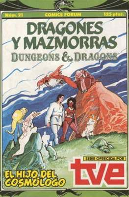 Dungeons and dragons. Dragones y mazmorras (Grapa 32 pp) #21