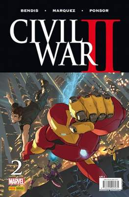 Civil War II (2016-2017) (Grapa. Color) #2