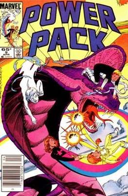 Power Pack (1984-1991; 2017) (Grapa) #9