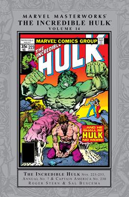 Marvel Masterworks The Incredible Hulk (Hardcover) #14