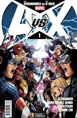 AvsX: Vengadores vs X-Men #1