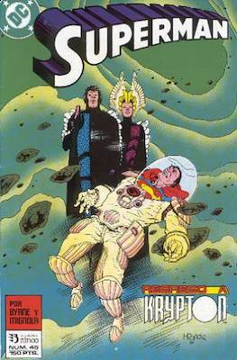 Superman: El hombre de acero / Superman Vol. 2 (Grapa 36 pp) #45
