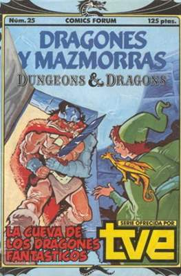 Dungeons and dragons. Dragones y mazmorras (Grapa 32 pp) #25