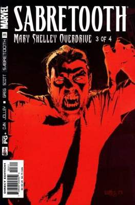 Sabretooth: Mary Shelley Overdrive (Comic Book) #3