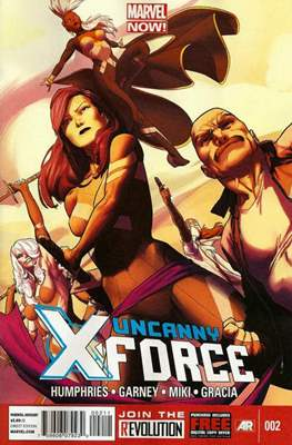 Uncanny X-Force Vol. 2 (Comic Book) #2