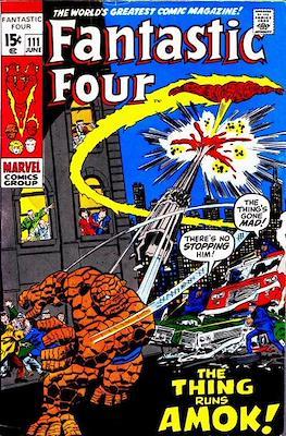 Fantastic Four Vol. 1 (1961-1996) (saddle-stitched) #111