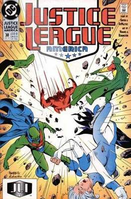 Justice League / Justice League International / Justice League America (1987-1996) (Comic-Book) #38