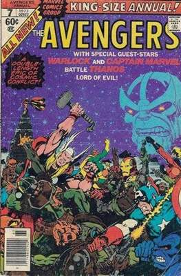 The Avengers Annual Vol. 1 (1963-1996) #7