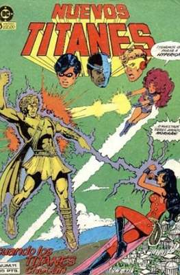 Nuevos Titanes Vol. 1 (1984-1988) (Grapa 40 pp) #11