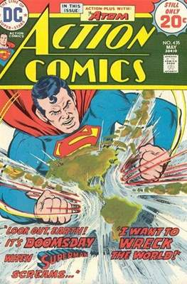 Action Comics Vol. 1 (1938-2011; 2016-) (Comic Book) #435