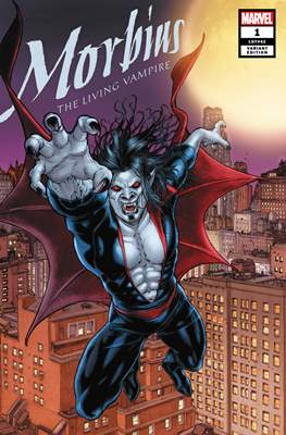 Morbius: The Living Vampire Vol. 3 (Variant Cover) #1.4