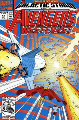 West Coast Avengers Vol. 2 (Comic-book. 1985 -1989) #82