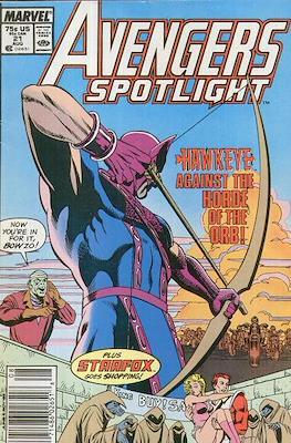 Solo Avengers / Avengers Spotlight (Comic book) #21