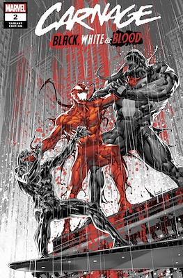Carnage: Black, White & Blood (Variant Cover) #2
