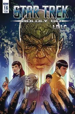 Star Trek: Boldly Go (Comic- Book) #16