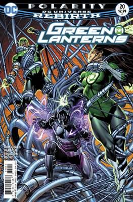 Green Lanterns Vol. 1 (2016-2018) (Comic-book) #20