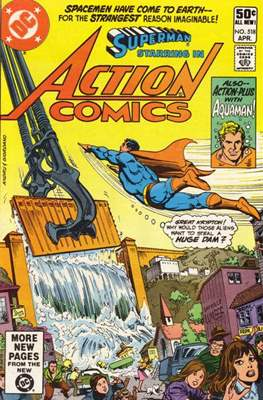 Action Comics Vol. 1 (1938-2011; 2016-) (Comic Book) #518
