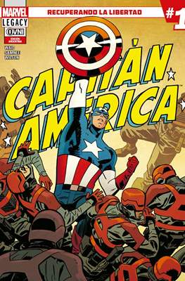 Capitán América - Marvel Legacy (Rústica) #1