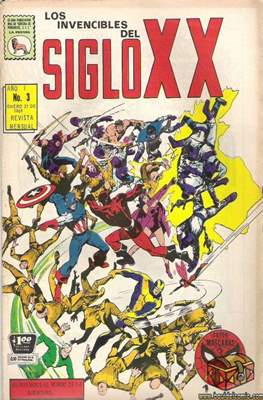 Los Invencibles del Siglo XX #3