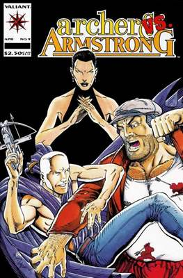 Archer & Armstrong #9