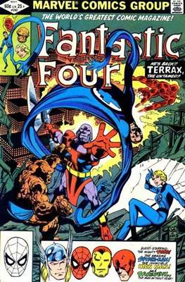 Fantastic Four Vol. 1 (1961-1996) (saddle-stitched) #242
