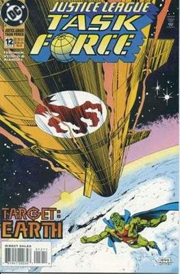 Justice League Task Force (Comic Book) #12