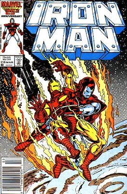 Iron Man Vol. 1 (1968-1996) (Comic book) #216