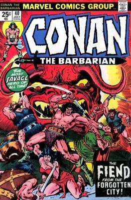 Conan The Barbarian (1970-1993) (Comic Book 32 pp) #40