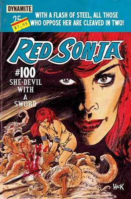 Red Sonja (2013-2015) (Saddle-Stitched) #100.1
