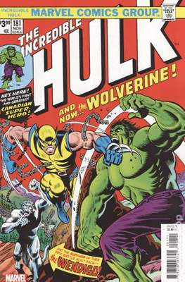 The Incredible Hulk - Facsimile Edition (Comic Book) #181