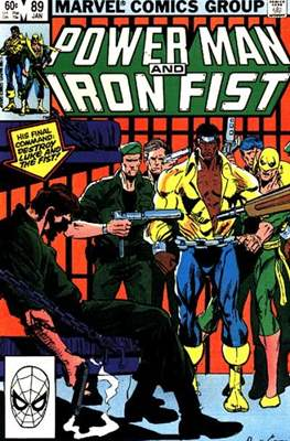 Hero for Hire / Power Man Vol 1 / Power Man and Iron Fist Vol 1 (Comic Book) #89