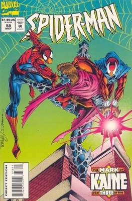 Spider-Man (Vol. 1 1990-2000) (Comic Book) #58