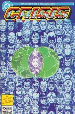 Crisis en Tierras Infinitas (1987) (Grapa. 32 páginas. Color.) #5
