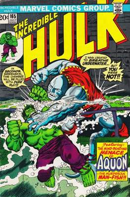 The Incredible Hulk Vol. 1 (1962-1999) (Comic Book) #165
