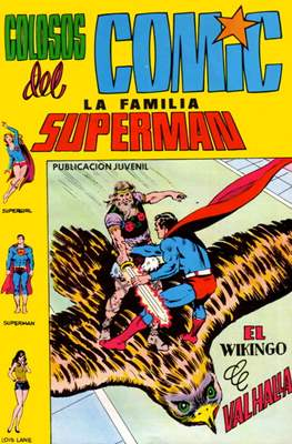 Colosos del Cómic: La familia Superman #9