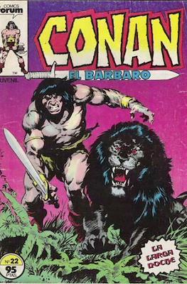 Conan el Bárbaro (1983-1994) (Grapa. 19x27. 36/32/24 páginas. Color.) #22