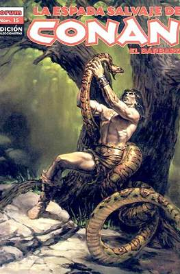 La Espada Salvaje de Conan el Bárbaro. Edición coleccionistas (Rústica 64 pp) #15