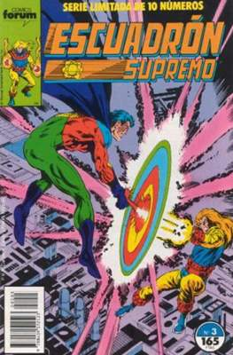 Escuadrón Supremo (1990) (Grapa. 17x26. 32 páginas. Color) #3