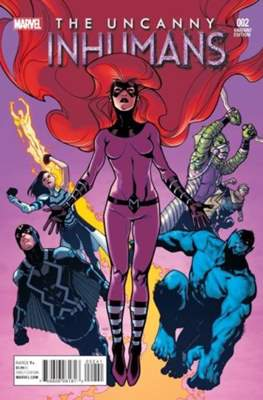 The Uncanny Avengers Vol. 3 (2015-2018 Variant Cover) #2.2