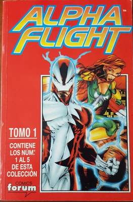 Alpha Flight Vol. 2 (1998-1999) (Retapado rústica) #1