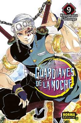 Guardianes de la noche (Kimetsu no Yaiba) (Rústica) #9