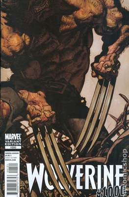 Wolverine (2010-2012 Variant Cover) (Comic Book) #1000