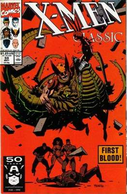 Classic X-Men / X-Men Classic (Comic Book) #59