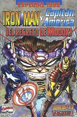 Iron Man Vol. 4 Especiales (1999-2000) (Grapa 40 pp) #1