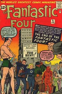 Fantastic Four Vol. 1 (1961-1996) #9