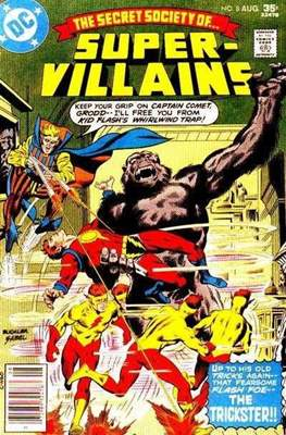 Secret Society of Super-Villains (Comic Book. 1976) #8