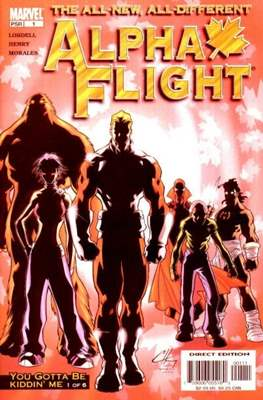 Alpha Flight (Vol. 3 2004-2005)
