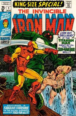 Iron Man vol. 1 Annual (1970-1994) (Comic Book) #1